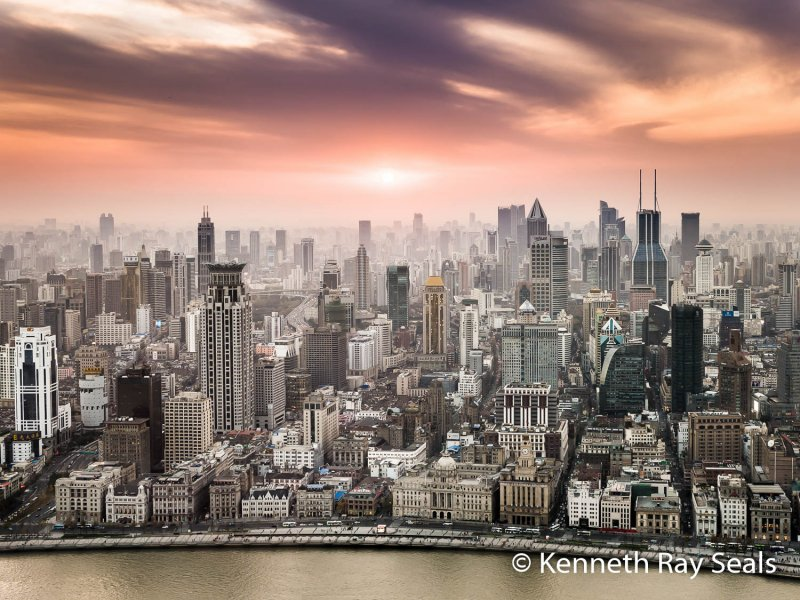 Kenneth Ray Seals Shanghai Sunset-1